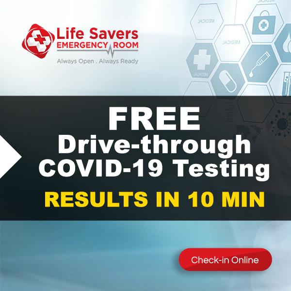 Free Drive Thru Covid Testing Life Savers Emergency Room